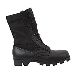 Rothco Military G.I. Type Mens Black Nylon Jungle Boots ( 5090) Medium