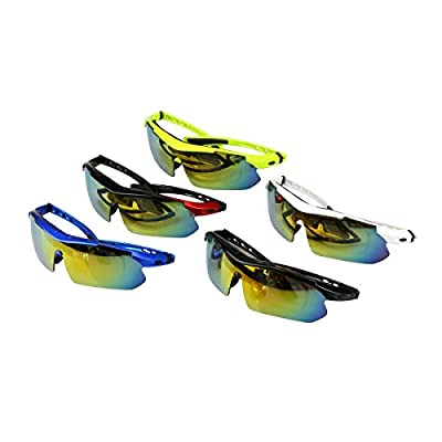 INBIKE New Cycling Bicycle Bike Sports Sun Glasses sunglasses with 5 Lens, 4 Colors To Choose