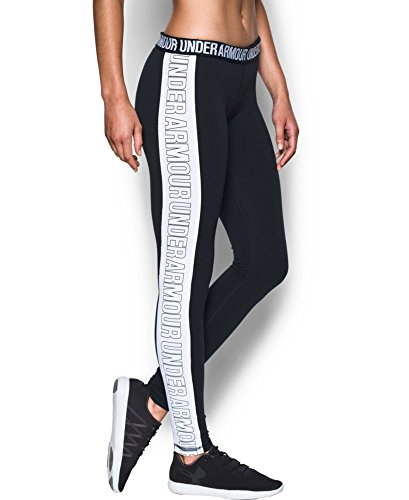 Under Armour Women's UA Favorite Split Word Mark Legging XXL-R Black