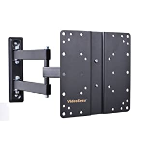 VideoSecu Articulating Arm LCD LED TV Wall Mount Fits LG 32LB5800 39LB5800 26LG30 26lg30dc 26LG40 26LS3500 32CS460 32CS560 32LK330 32LM6200 32LS3400 32LS3500 32LN530B 37CS560 LCD TV ML510B B65 from VideoSecu