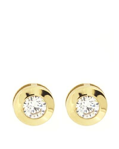 Gold & Diamond Pendientes Chatón