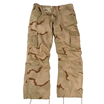 3786 WOMEN'S TRI-COLOR VINTAGE PARATROOPER FATIGUES XX SMALL