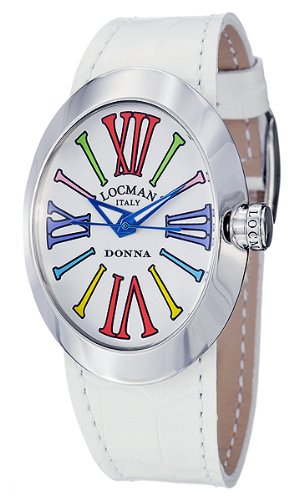 LOCMAN Watches:Locman Women's Glamour Donna Watch 410WHMUL Images