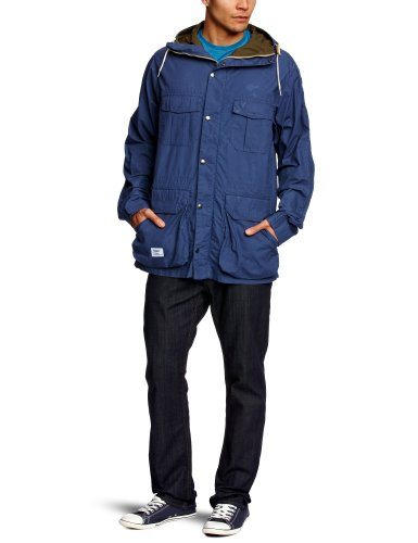 Addict Mountain Peak Men's Jacket Ensign Blue Large