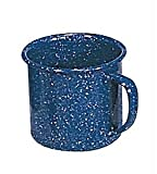 Stansport Outdoor 10985 10-Ounce Cinsa Blue Enamel Coffee Mug