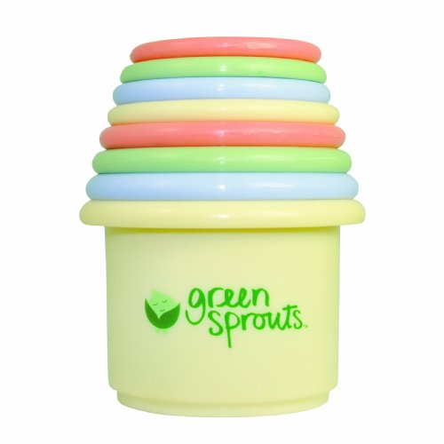 green sprouts Stacking Cup Set