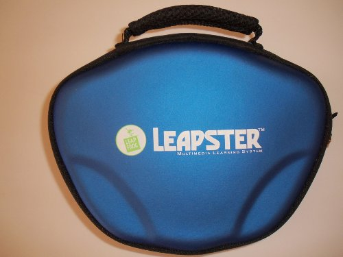 Leap Frog Leapster System Case Holder Blue Lmax 2 - 1