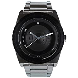 TACS Lens Analog Black Dial Unisex Watch -TS1002A