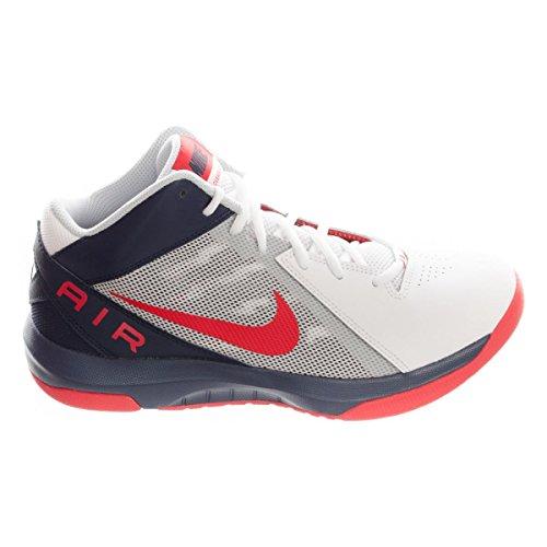 Nike THE AIR OVERPLAY IX - Scarpe da ginnastica Uomo, Bianco, 44