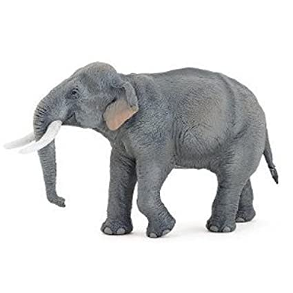 Papo Asian Elephant Toy Figure by Papo (English Manual)