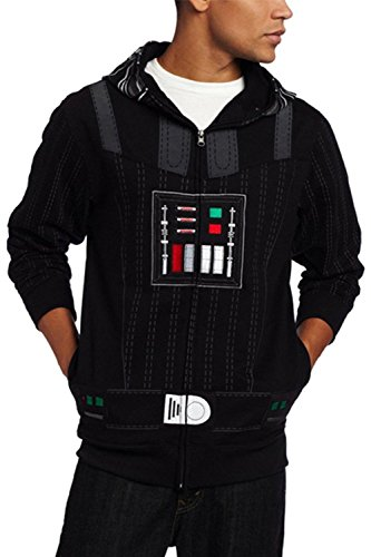 [Dben Cosplay Sith Darth Vader Fleece Hoodie Jacket Costume] (Supreme Edition Darth Vader Costumes)
