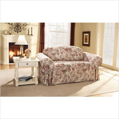 Chloe Loveseat Slipcover - Multicolor