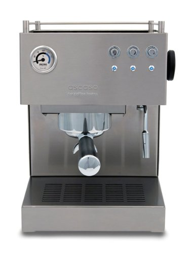 Ascaso Subfvbr Steel Uno Professional Espresso Machine With Safety Cutoff Feature front-194371