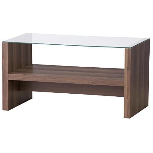 AZUMAYA カフェテーブル ブラウン色 CAT-BR