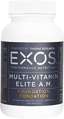 EXOS Performance Nutrition - Multi-Vitamin Elite AM - 90 Capsules