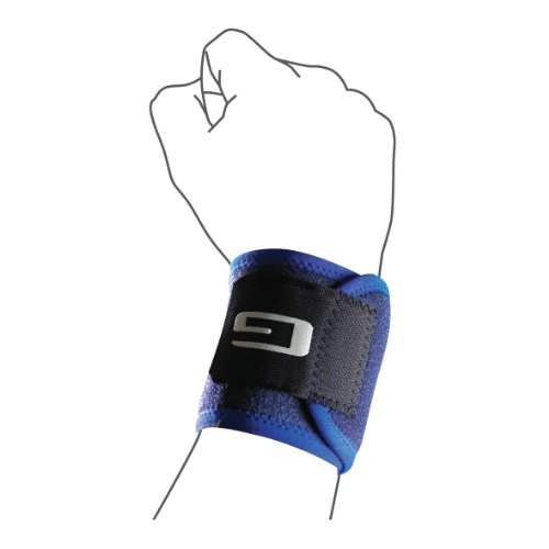 Neo G Medical Grade VCS Wrist Strap Support strengthens and supports wrist tendons and muscles, used for racket sports, weight lifting and even typing