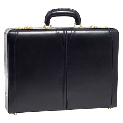 mckleinusa-lawson-80455-black-leather-attache-case