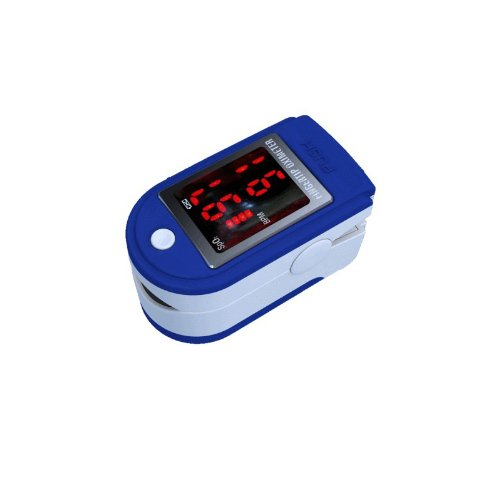 Sports Outdoors Used Before or After Doing Sports Cms50dl Pulse Oximeter Blue Color