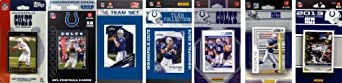 NFL Indianapolis Colts 7 Different Licensed Trading Card Team Sets by C&I Collectables