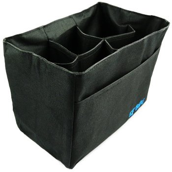 KF Baby Diaper Bag Insert Organizer - 9.6 x 5.6 x 7.2 inch, Black