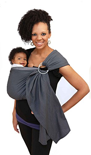 Maya Wrap Lightly Padded Ring Sling - Graphite - Medium