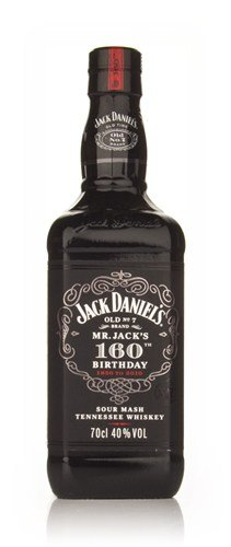 Jack Daniel?s discount duty free Jack Daniel's 160th Birthday 1850-2010 Tennessee Whiskey