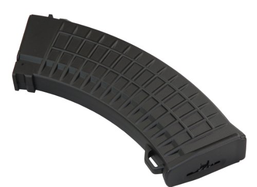 JBU International SDJBI04B Thermal Plastic 550 Round High Capacity Airsoft MIL47 Waffle Magazine with Roll-up