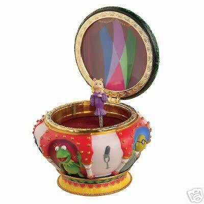 Disney Muppets Miss Piggy Magical Musical Jewelry Box