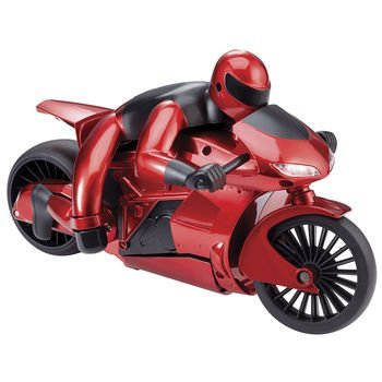 The Black Series by Shift3 Radio Controlled High Speed RC Motorcycle with Leaning Function (Color: Red/Frequency: 27 MHz)