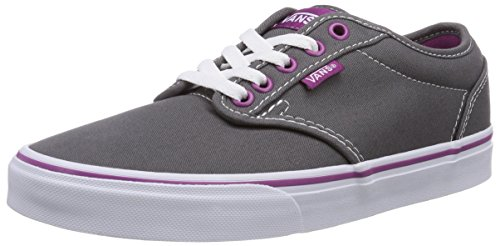 Vans Womens Atwood Canvas Sneakers Pewterwildaster 5 B(M) US