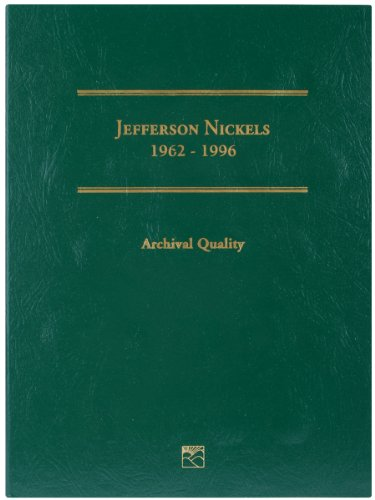 Littleton Jefferson Nickel Folder, 1962-1996 Volume 2 - 1