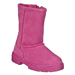 Product Image Toddler Girls' Circo® Jaliyah Suede Boots - Fuchsia