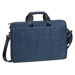 Rivacase 8335 Biscayne 15.6 Inch Computer Bag, Blue