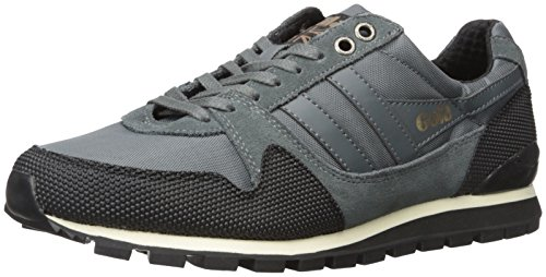 Gola Men's Ridgerunner Ii Fashion Sneaker, Grey/Black, 12 UK/13 M US