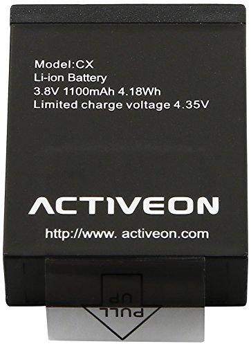 Activeon ACA01RB Batterie pour Caméra CX