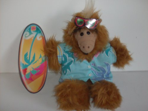 Alf Puppet with Surf Board and Sunglasses Special Burger King Exclusive Promo - 1