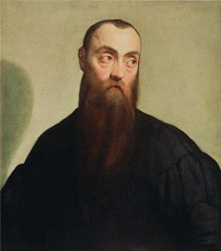 Oil Painting 'Portrait Of A Bearded Man, About 1550 By Jacopo Bassano' 20 x 23 inch / 51 x 58 cm , on High Definition HD canvas prints is for Gifts And Bed Room, Laundry Room And Living Room decor (Primitive Ceiling Fan Blades compare prices)