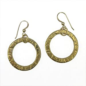 Infinity Gold Dipped Earrings