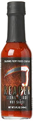 Reaper Sling Blade Hot Sauce - Made with the Carolina Reaper! from CaJohns
