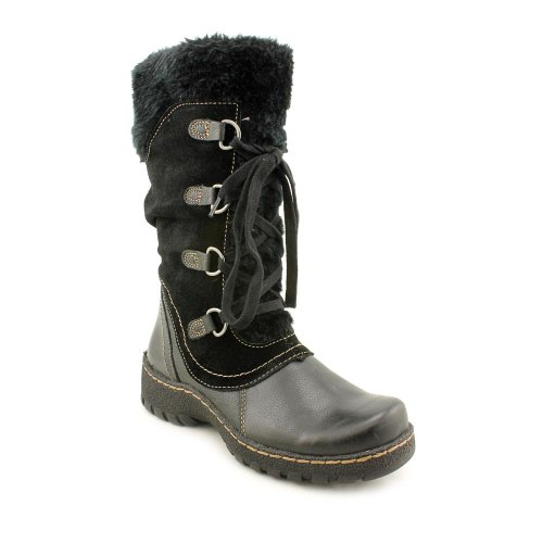 Baretraps Betheny Womens Black Regular Suede Winter Boots 7 M
