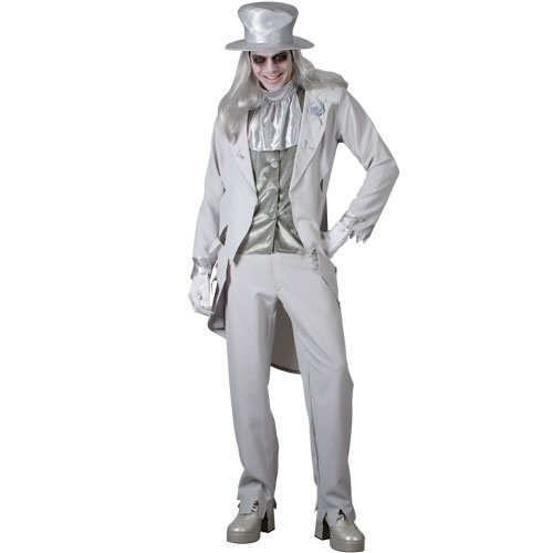Wicked Adult mens Ghostly Groom Halloween Costume small
