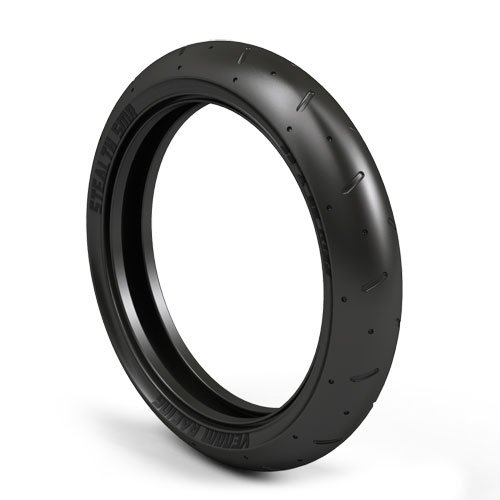 Atomik Stealth Smr Front Tire For Mm 450 And Vmx 450 Rc Dirtbike