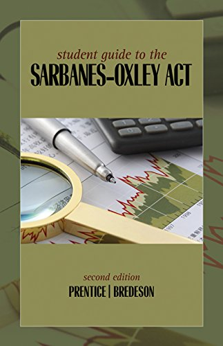 an outline of the sarbanes oxley act Free sarbanes-oxley act papers, essays, and research papers.
