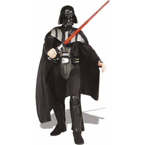 Deluxe Darth Vader Costume - X-Large - Chest Size 44-46