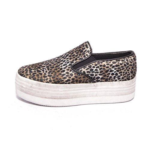 JC Play by Jeffrey Campbell - Ballerine da donna Slip on Leopard - Maculato - 40