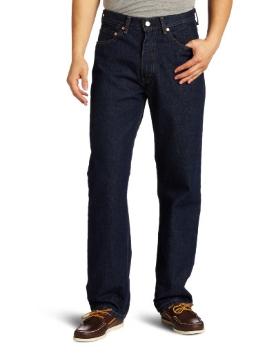 Levi's Men's 550 Relaxed Fit Jean, Rinse, 36x32