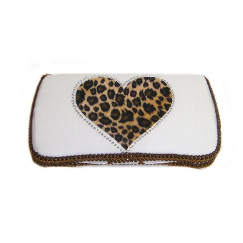 Wild Heart White Baby Travel wipes case