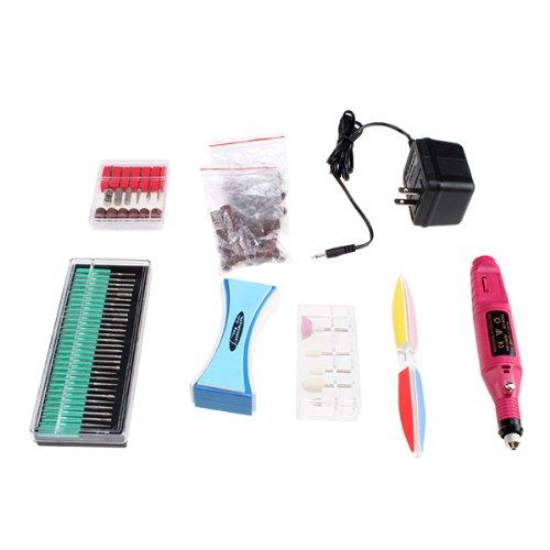 Image® 110V Professional Electric Nail Drill Art Manicure File Pen Kit 60Pcs Set front-796941