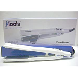 iTools One Pass 1.5 Inch Nano-Ceramic Straightening Iron Model No. ST-OP-1.5