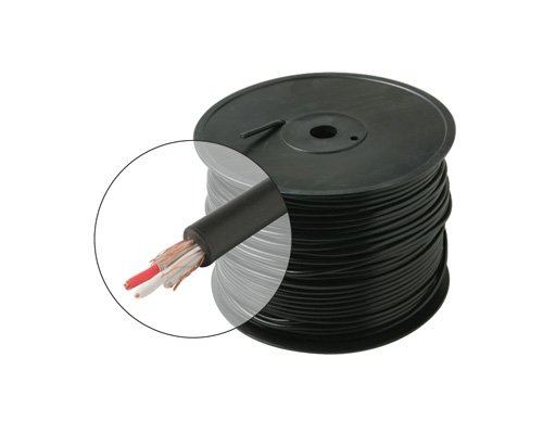 1000Ft 22Awg 2-Conductor Microphone Cable